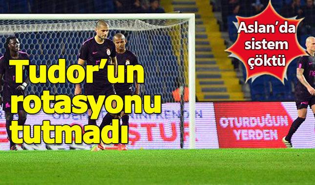 Galatasaray'ın büyük maç kabusu sürüyor