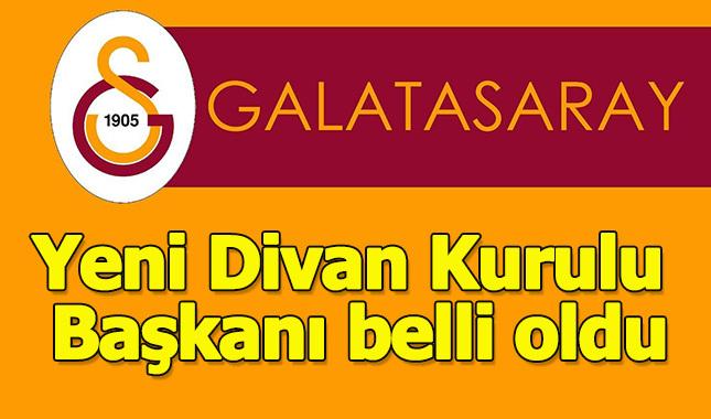 Galatasaray'ın yeni Divan Kurulu Başkanı Eşref Hamamcıoğlu olarak seçildi