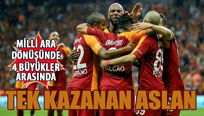 Galatasaray'ın yüzü milli aranın ardından güldü
