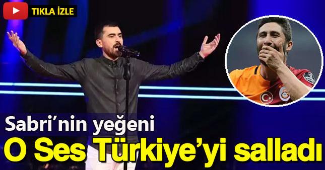 Galatasaraylı Sabri'nin yeğeni O Ses Türkiye'ye katıldı