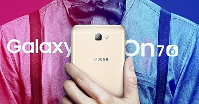 Galaxy On7 2016 görücüye çıktı