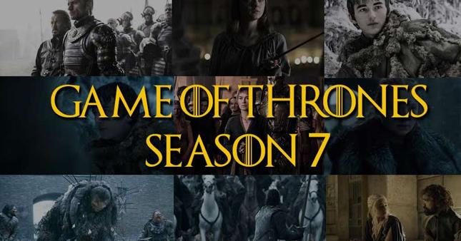 Game Of Thrones 7 Sezon 2017 1 Bölüm Hd Dizi Sitesi