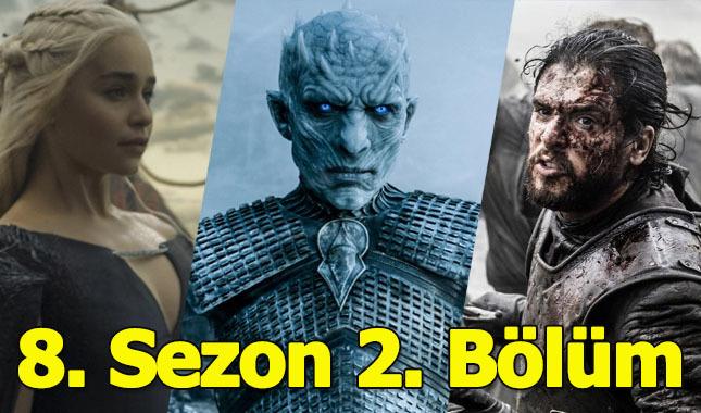 Game of Thrones 8 sezon 2 bölüm izle HBO dizi