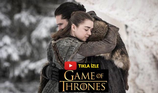 Game of Thrones 8. sezon 1. bölüm izle Türkçe altyazılı bein connect