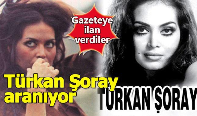 Gazete ilanıyla Türkan Şoray'ın gençliğini arıyorlar