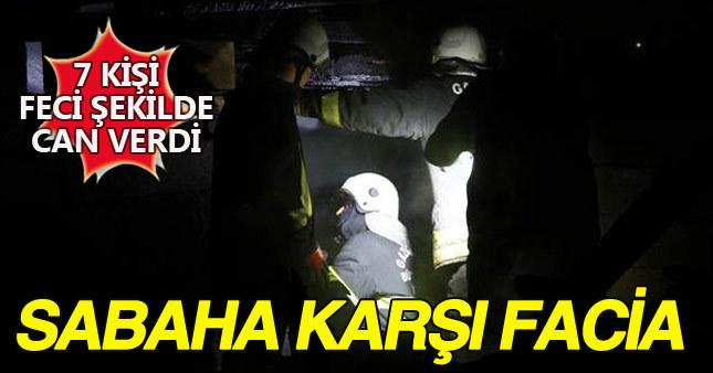 Gaziantep'te baraka yangını: 7 ölü