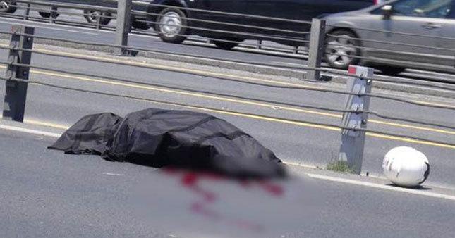 Genç motosikletçi kazada yaşamını yitirdi