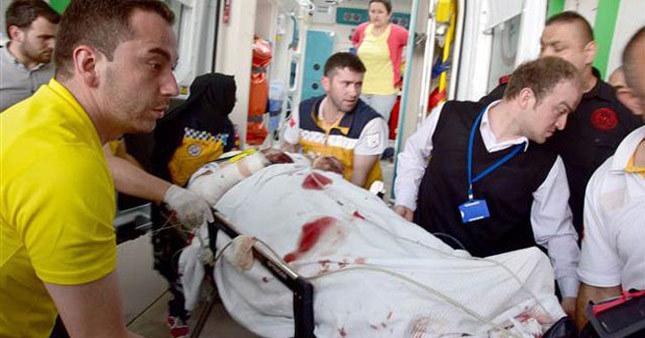 Giresun'da terör saldırısı:1 yaralı