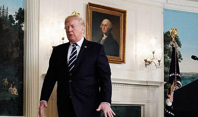 Göçmenlere sinirlenen Trump ağzını bozdu