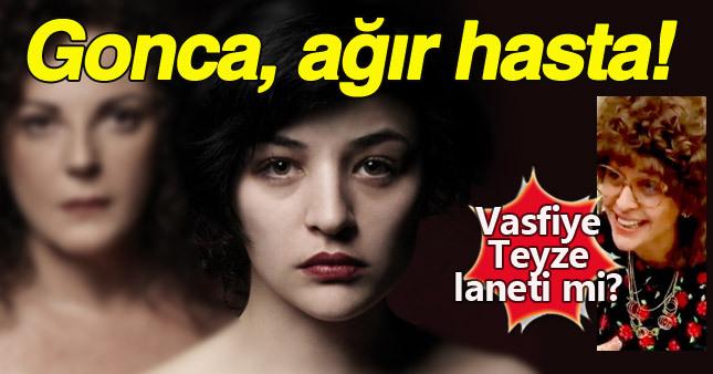 """Gonca Vuslateri, canlandırdığı """"Vasfiye Teyze"""" karakteriyle aynı kaderi paylaşıyor!"""