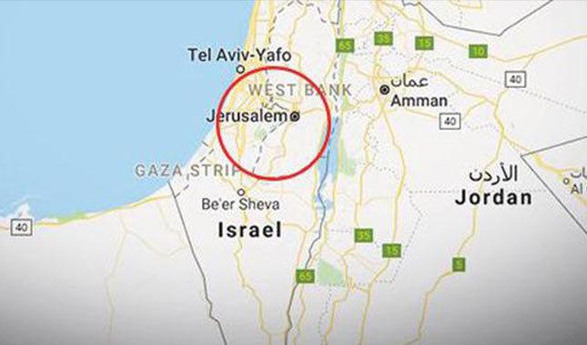 Google Kudüs'ü İsrail'in başkenti yaptı