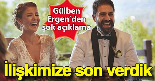 Gülben Ergen'den şok açıklama: Karı koca ilişkimize son verdik