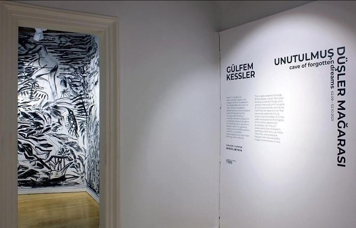 """Gülfem Kessler """"Unutulumuş Düşler Mağarası"""" - Küratör: Nergis Abıyeva"""