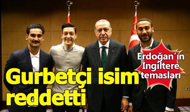 Gurbetçi futbolcu Erdoğan'ın davetini reddetti