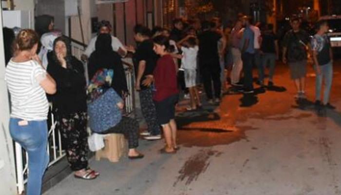 Gürültüyle patladı, mahalle sakinleri sokağa döküldü