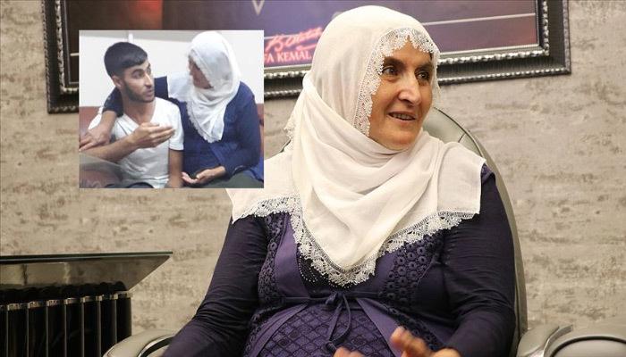 Hacire anne, oğlunu terörün elinden aldı!