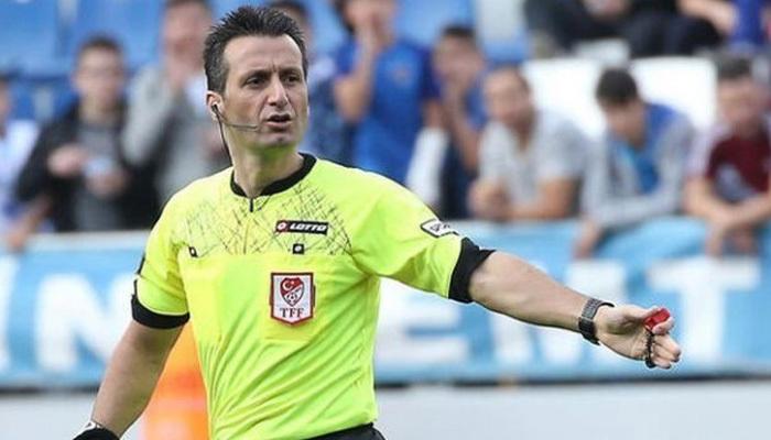 Haftanın maçına Suat Arslanboğa atandı