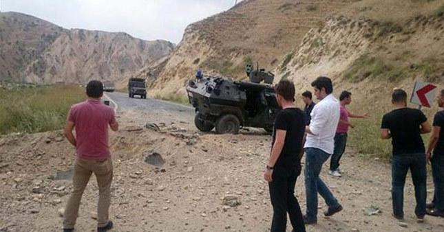 Hakkari'de askeri araca saldırı: 1 asker şehit