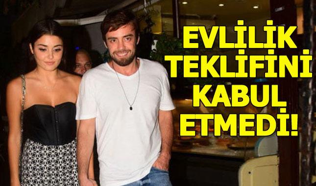 Hande Erçel, Murat Dalkılıç'ı reddetti