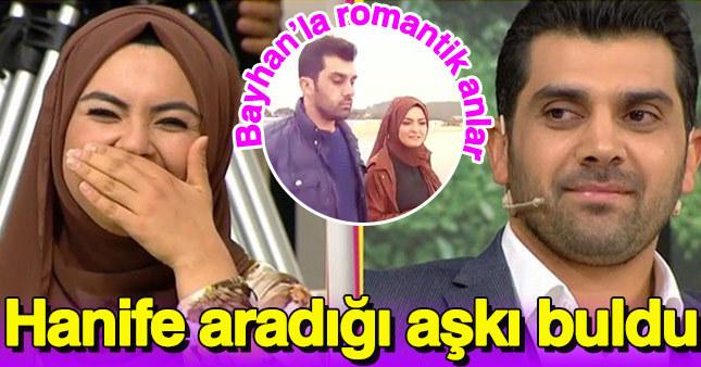 Hanife ve Bayhan ilişkisinden çok özel görüntüler yayınlandı!