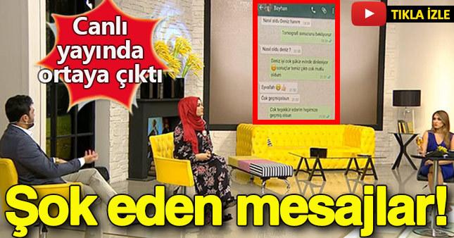 Hanife'ye WhatsApp şoku!