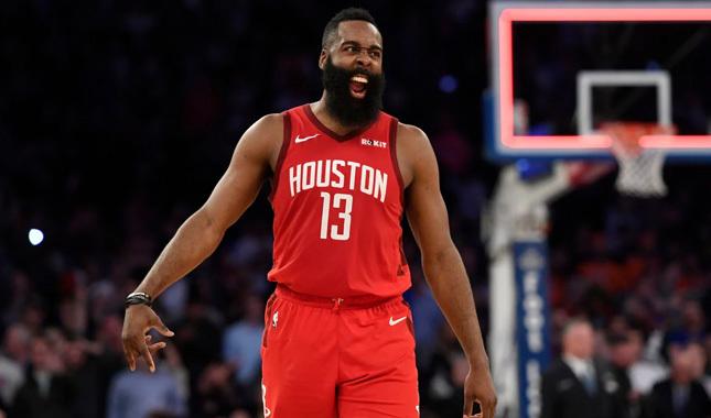 Harden çoştu, Rockets kazandı