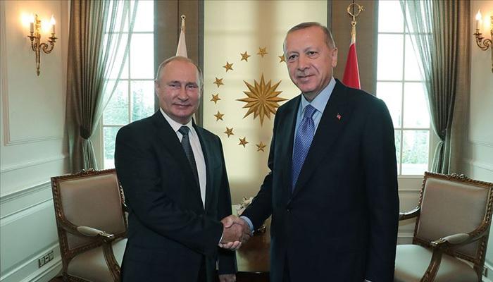 Harekat öncesi Erdoğan ile Putin telefonda görüştü
