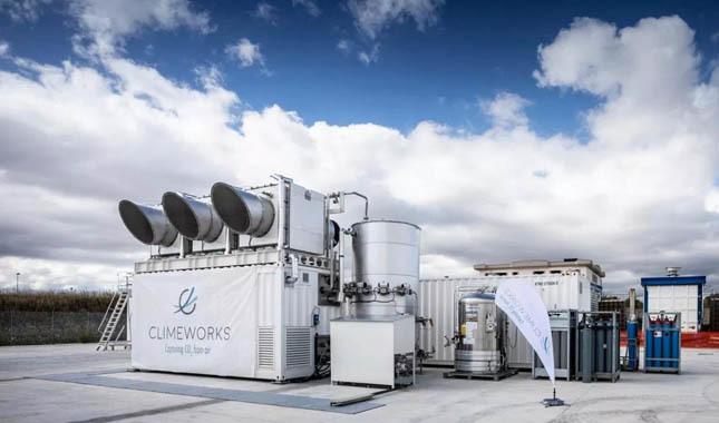 Karbondioksiti taşa dönüştüren teknoloji!