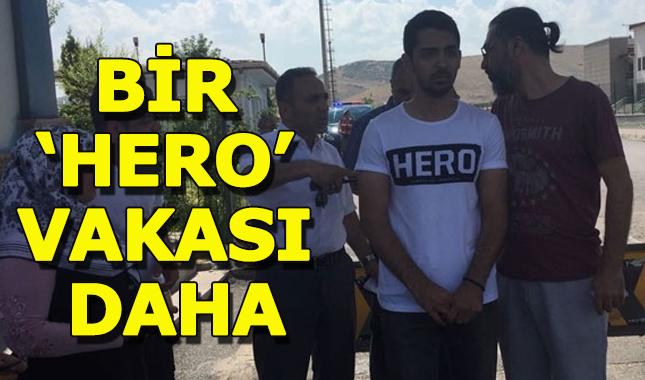 'Hero' yazılı tişörtle duruşmaya girmek istedi gözaltına alındı