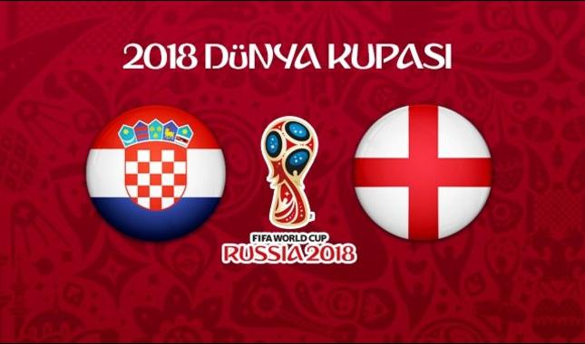 Hırvatistan İngiltere maçı ne zaman saat kaçta hangi kanalda