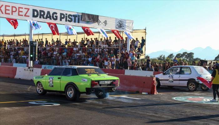 Hız tutkunları Antalya'daydı