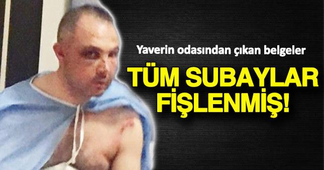 Hulisi Akar'ın yaveri TSK'nın tüm subaylarını fişlemiş