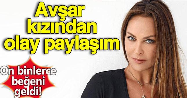 Hülya Avşar'dan sosyal medyayı sallayan paylaşım