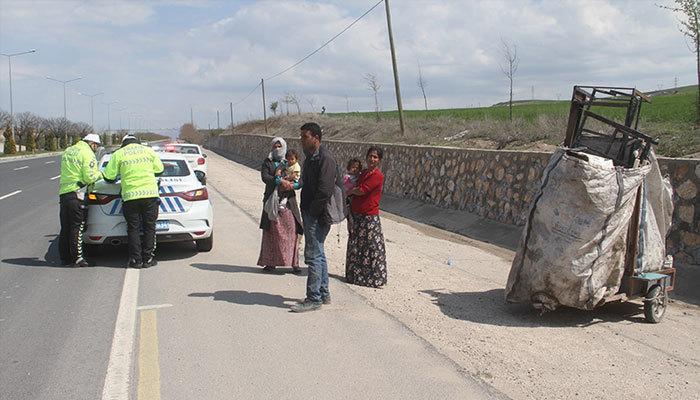 Hurda toplayan kişiye 3 bin lira koronavirüs cezası