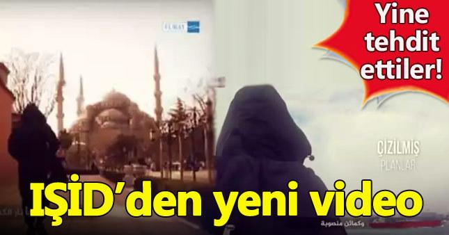 """IŞİD'den """"İstanbul"""" içerikli yeni tehdit videosu"""