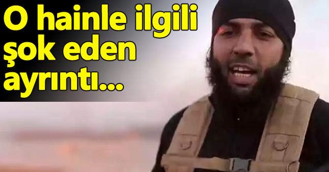 IŞİD'e katılan hainle ilgili şaşırtan gerçek!