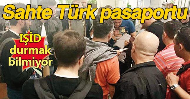 IŞİD'in Sahte Türk pasaportu için sıkı önlem