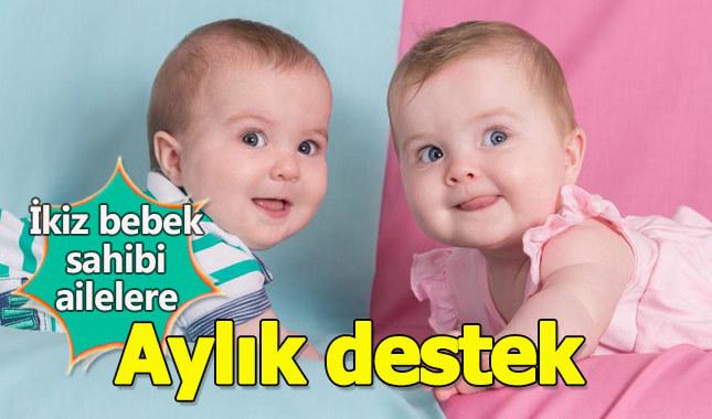 İkiz bebek sahiplerine devletten aylık 150 TL yardım