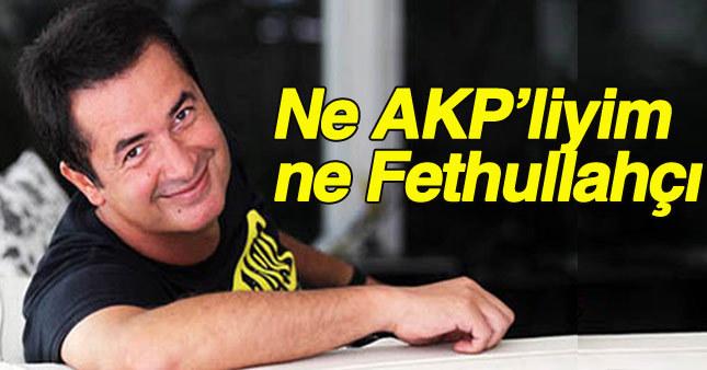 Ilıcalı: AK Parti'yle hiçbir bağım yok. Ben Cumhurbaşkanı'nı seviyorum.