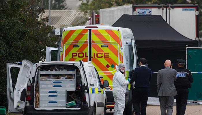 İngiltere'de bir kamyonda 39 ceset çıktı