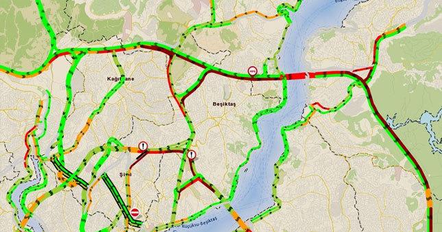 İntihar girişimi İstanbul trafiğini vurdu