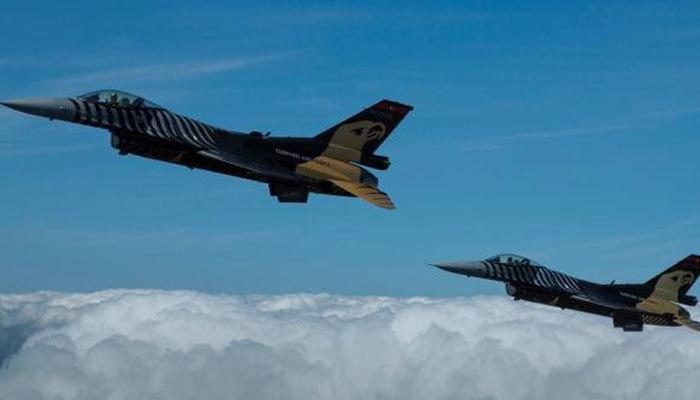 Irak'ın kuzeyine hava harekatı! 8 terörist...
