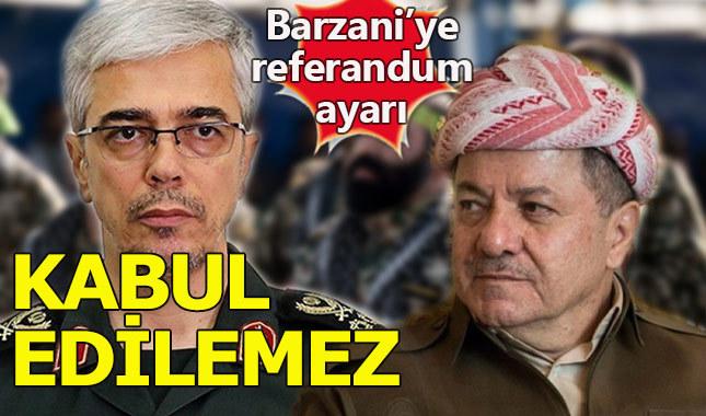 İranlı Komutandan Barzani'ye çok sert referandum tepkisi