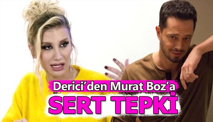 İrem Derici'nin valeye verdiği bahşişin para üstünü isteyen Murat Boz'a tepkisi