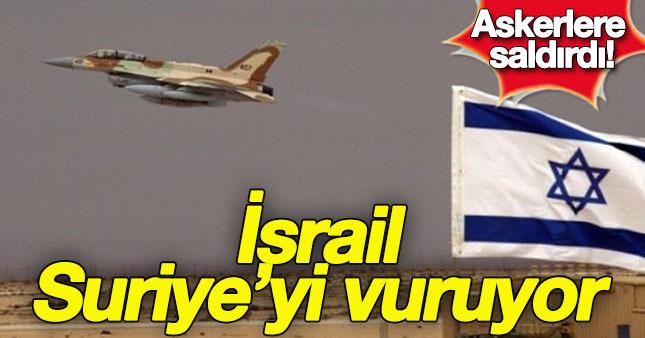 İsrail, Suriye rejimini vurdu