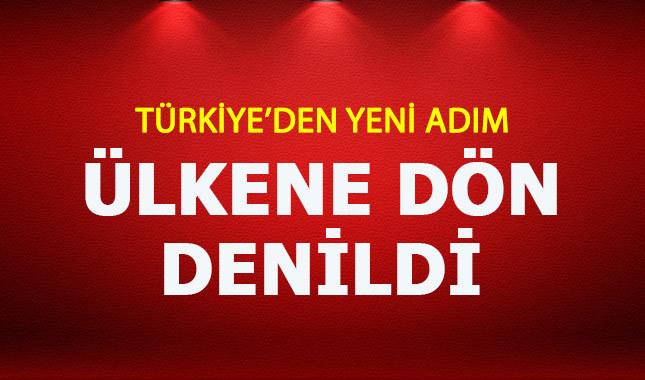 İsrail'in İstanbul Başkonsolusu da gönderiliyor