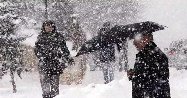 İstanbul ve Ankara için kar yağışı uyarısı