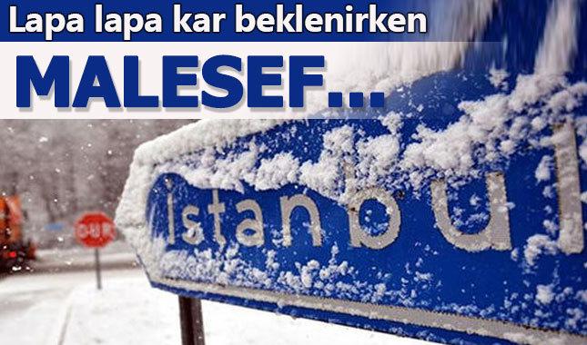 İstanbul'a kar bekleyenlere üzücü haber geldi!
