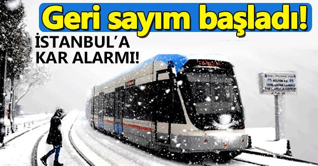 İstanbul'a kar ne zaman yağacak? 21 ocak hava durumu