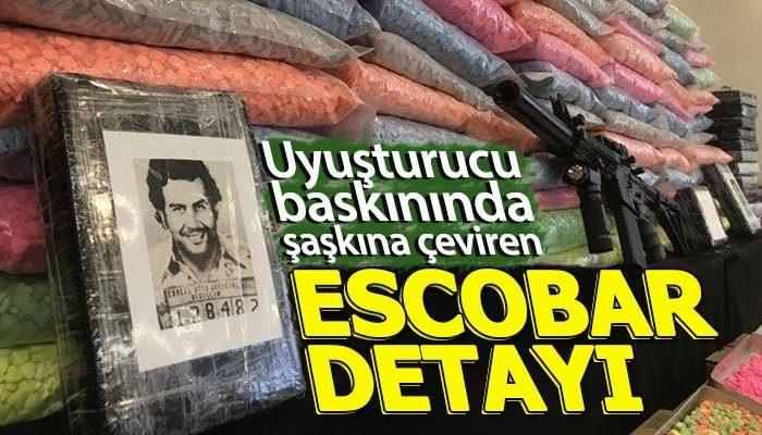 İstanbul'da dev narkotik operasyonunda Escobar detayı